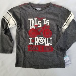 2for$12 • Toughskins L/S Thermal • sz 4t